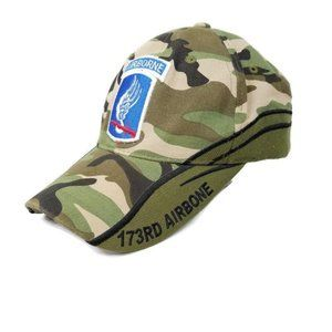 173rd Airborne Brigade Combat Team Patch Cap Hat